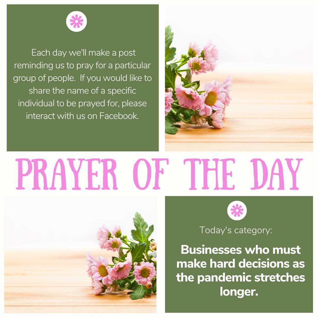 Blog Prayer of the Day 4_18